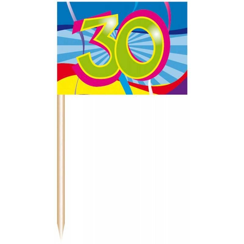 30 Jaar Prikkers Swirls - 50 stuks