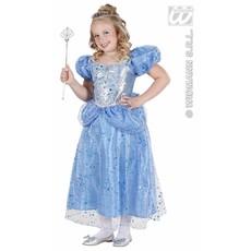 Prinses-Fee blauw kostuum