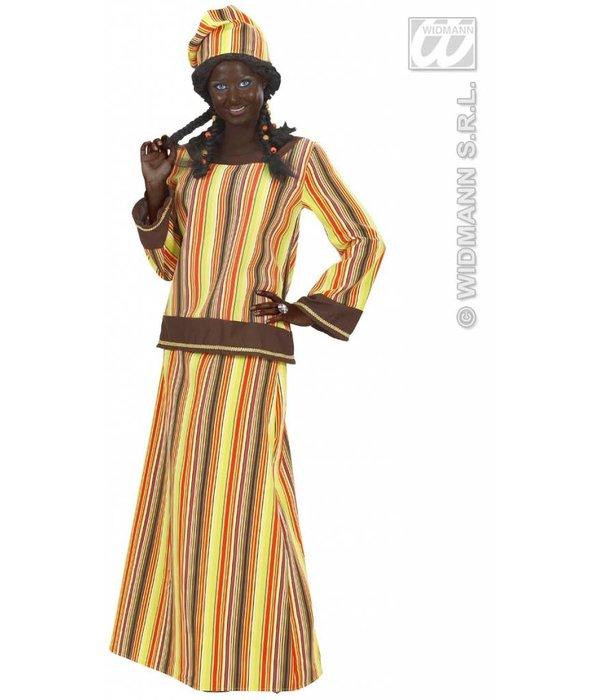 Afrikaanse dame kostuum