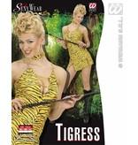 Sexy jurkje tijgerprint