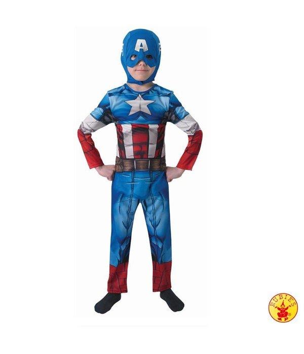 Wonderbaar Captain America pak kind original - Feestbazaar.nl QZ-17