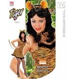 Sexy tijger verkleedkleding
