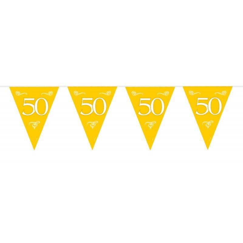 Vlaggenlijn 50 goud