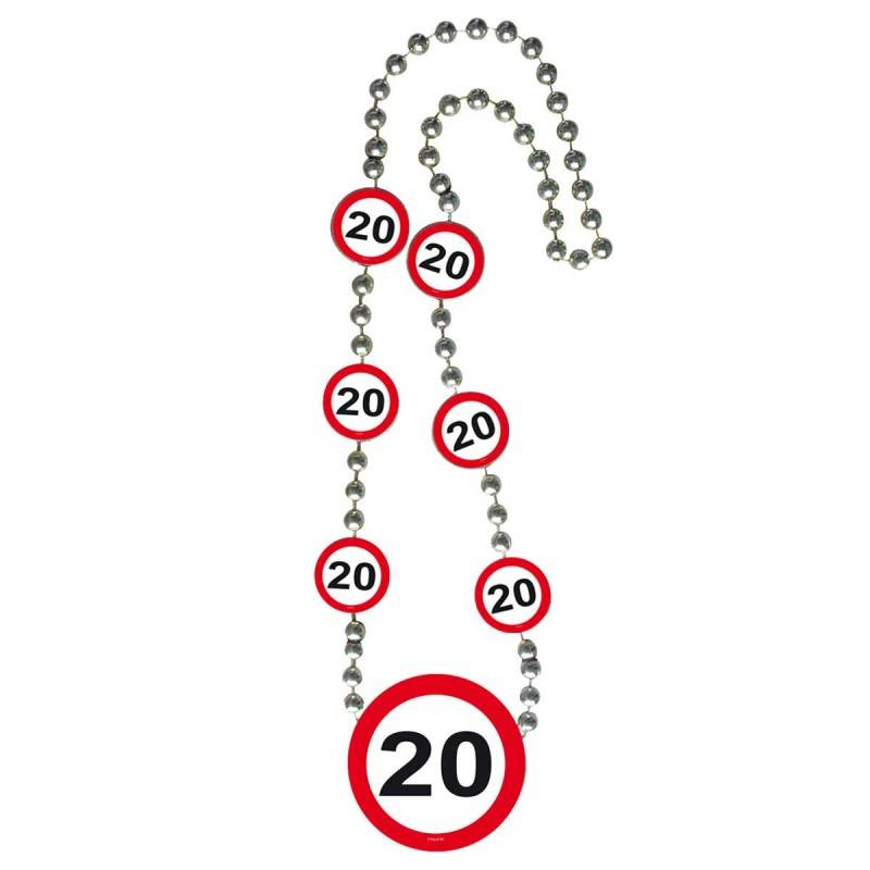 20 Jaar Verkeersbord Ketting