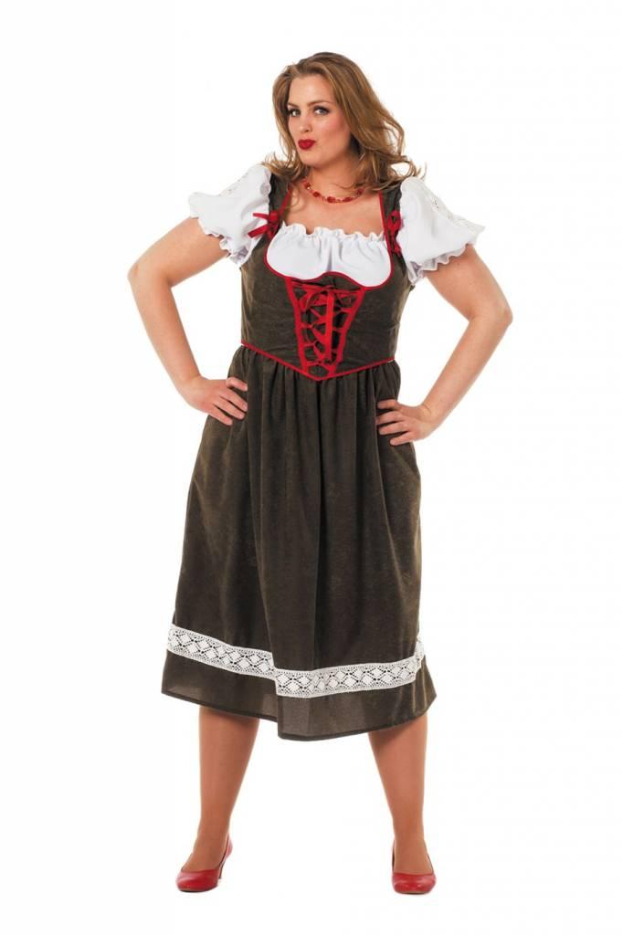 b58cc0115c4 Dirndl jurk lang