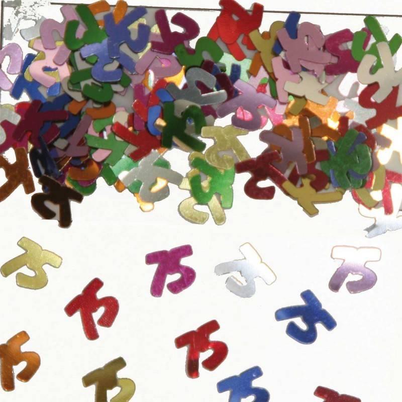 75 Jaar Tafeldecoratie-Sierconfetti
