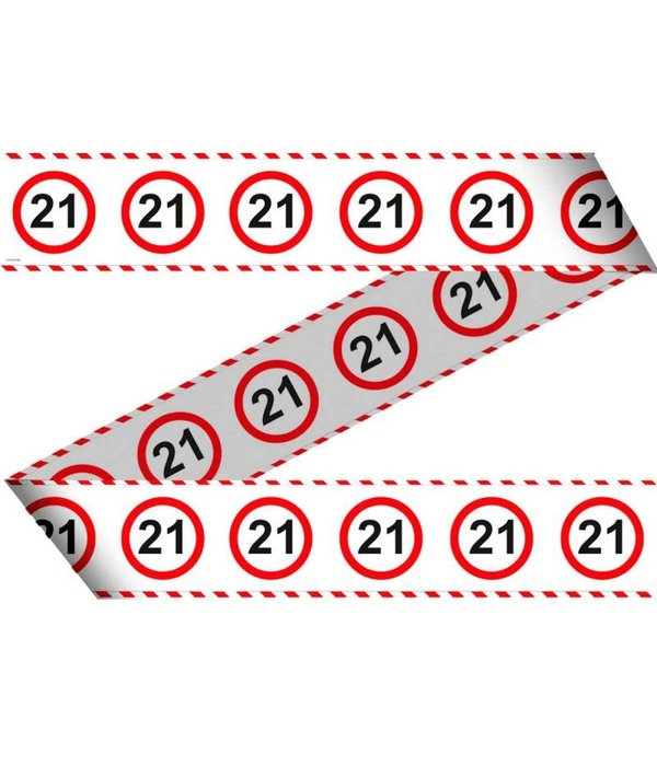 Afzetlint Verkeersbord 21