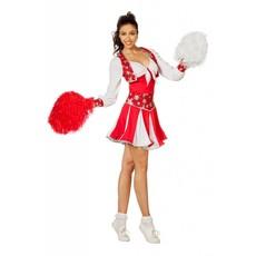Cheerleader pakje luxe rood