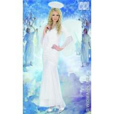Engel kostuum fluweel met kant