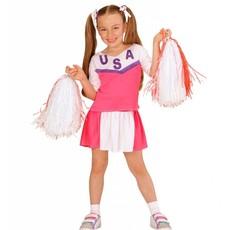 Amerikaanse Cheerleader kostuum Kind