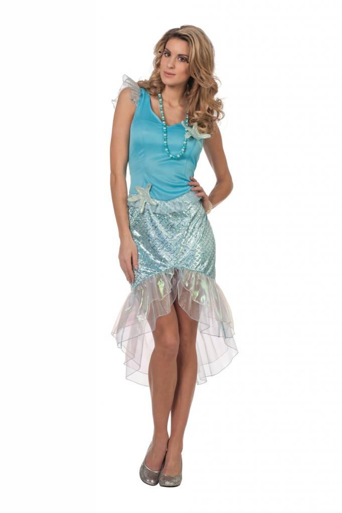 Zeemeermin kostuum vrouw