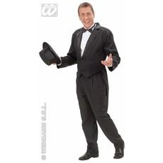 Frackjas man zwart met satijnen kraag