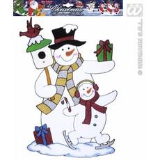 Sneeuwpop sticker