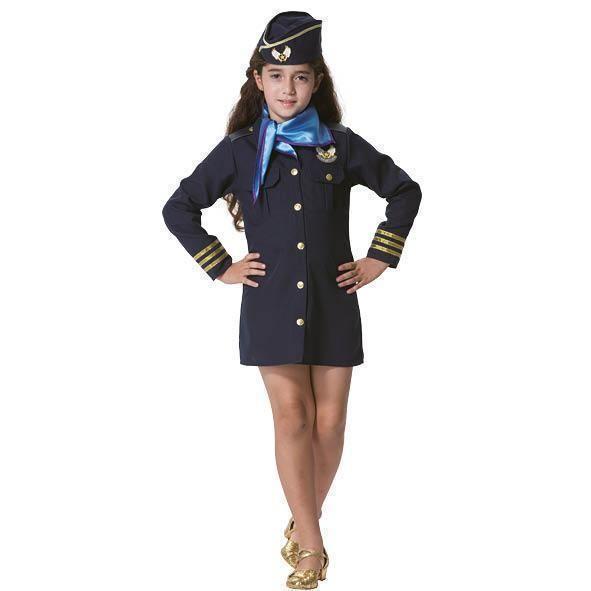 Stewardess kostuum kind