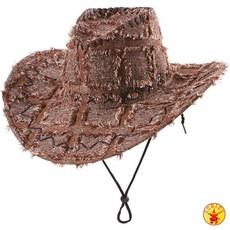 Cowboyhoed lapjes bruin