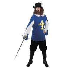 Musketierspak man blauw