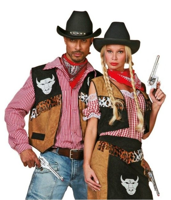 Cowboyvest Buffalo man