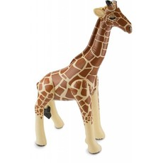 Opblaas Giraffe 75cm