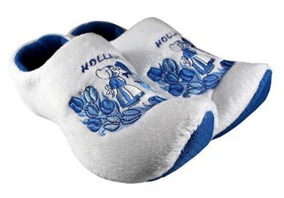 Klomp pantoffels Delftsblauw Kiss