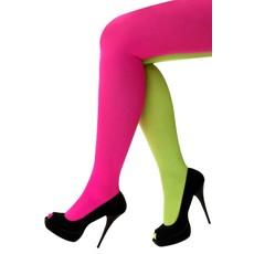 Panty fluor roze/fluor geel
