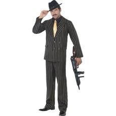 Gouden krijtstreep Gangster pak
