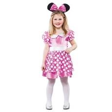 Roze Muismeisje kostuum