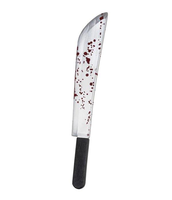 Machet mes met bloed 54cm