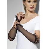 Visnet Vingerloze handschoenen zwart