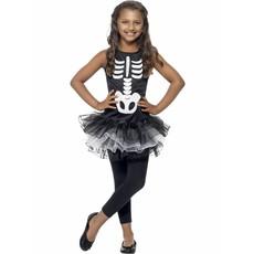 Skeleton Tutu kostuum kind