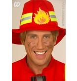 Brandweerman kostuum fiberoptic