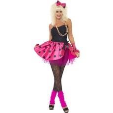 Roze Tutu 80's verkleedset