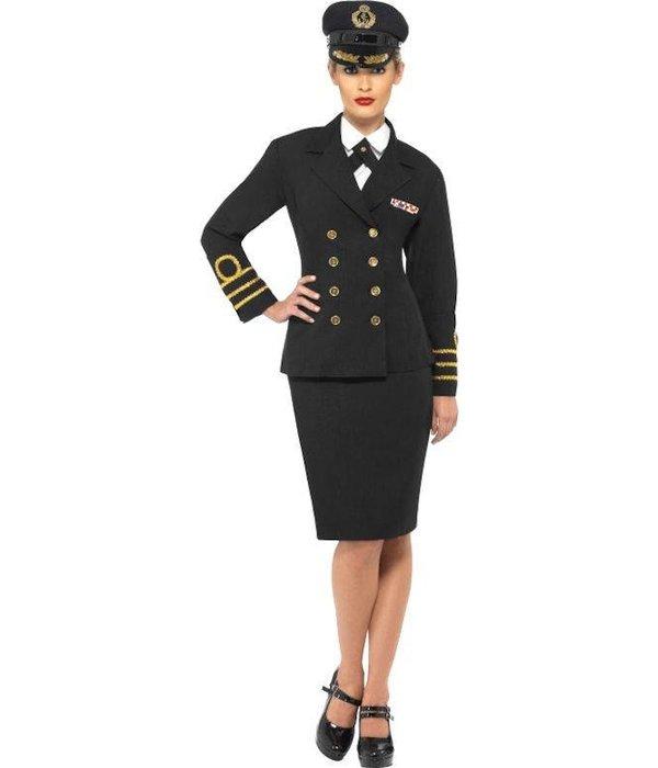 marine kostuum dames