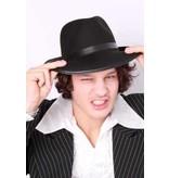 Al Capone hoed zwart wolvilt