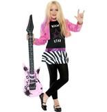 Rocker meisje kostuum