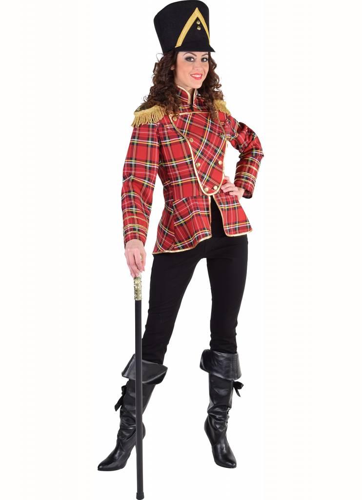 Schots geruit jasje dames
