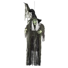Decoratie Evil witch (190 cm)