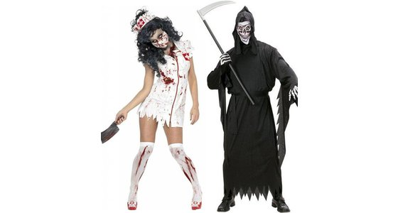 Halloween griezel kleding