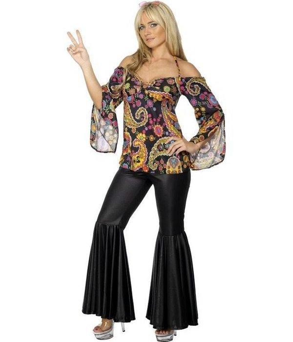 Hippie Diva kostuum dame