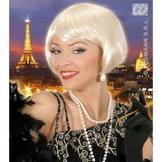 Pruik Valentina blond