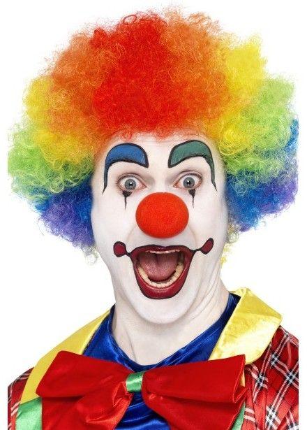 Crazy Clown pruik