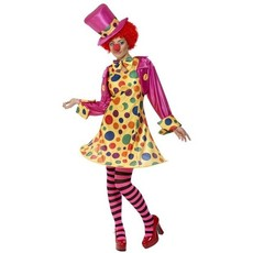 Clown Lady verkleedkostuum