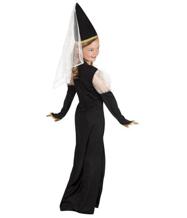 Middeleeuws meisjes kostuum