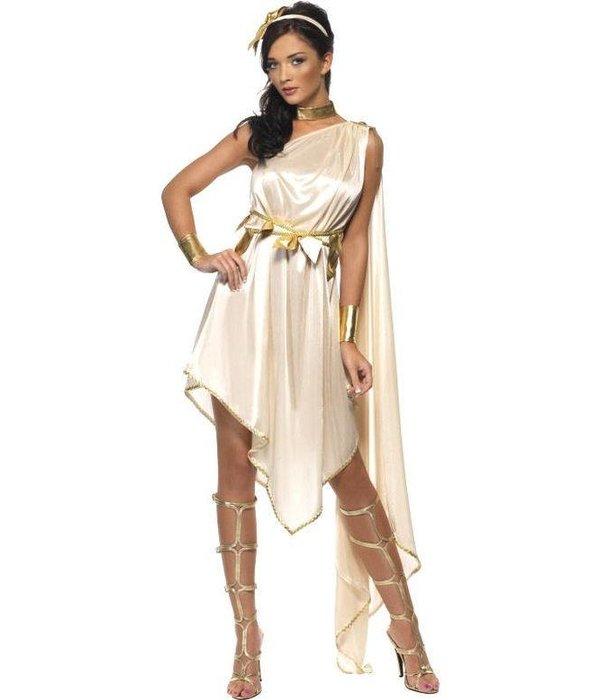 Sexy Godin kostuum vrouw