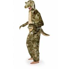 Krokodillen kostuum volwassen luxe