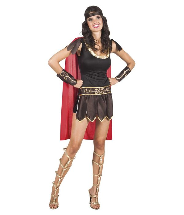 Gladiatrix carnavalskostuum vrouw