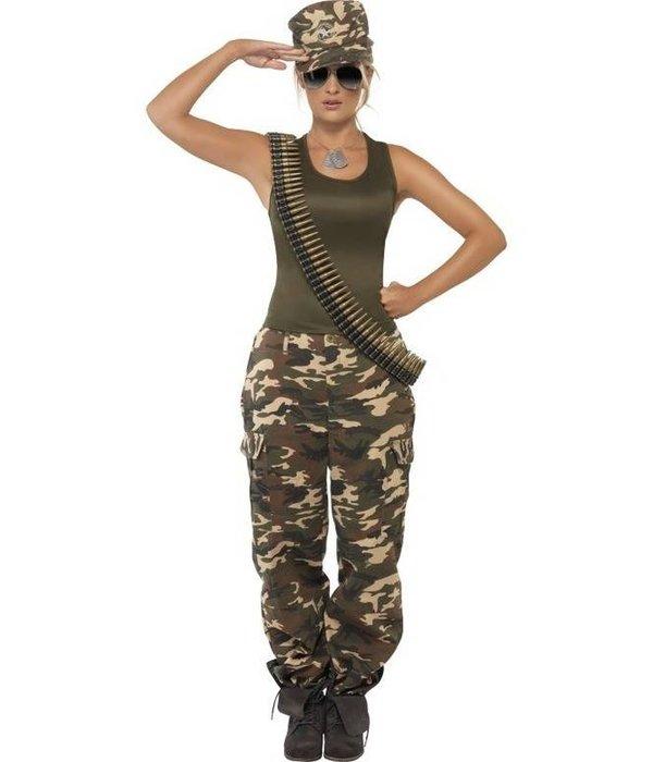 leger kostuum vrouw