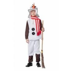 Sneeuwpop kostuum kind