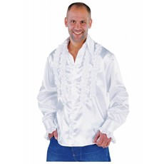 Ruches blouse wit populair