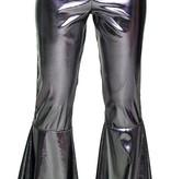 Zilveren broek zilver stretch
