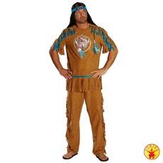 Indiaans kostuum man